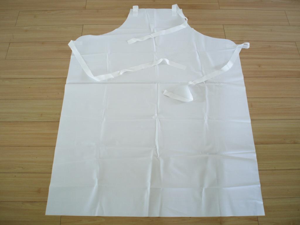 White rubber apron - White Eva Apron