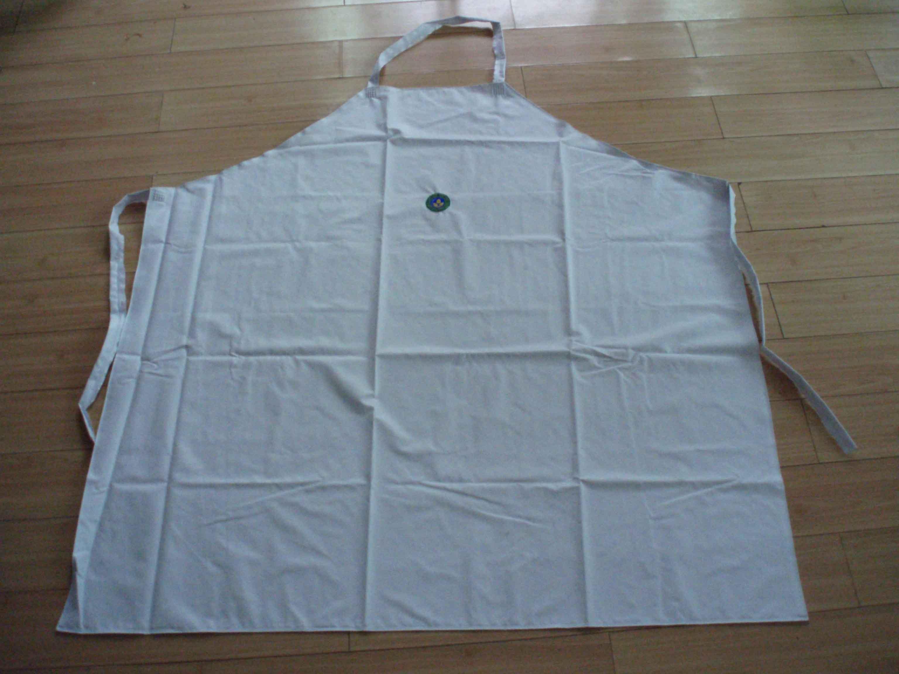 White rubber apron - Pvc Apron
