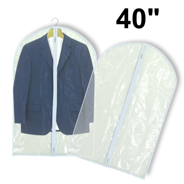 Clear PEVA Suit Covers