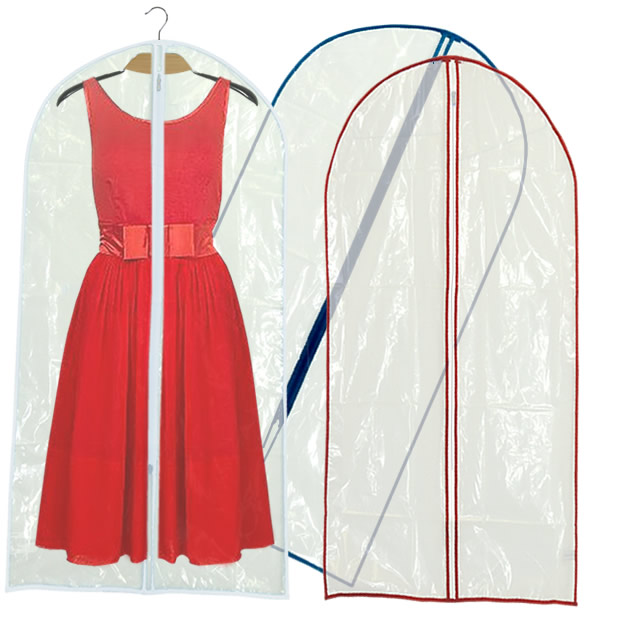 Clear PEVA Dress Cover