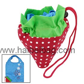 Strawberry-Foldable-Bag